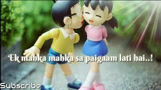 Mein saans leti hu teri khushboo aati hai/Nobita&shizuka/whatsapp s music