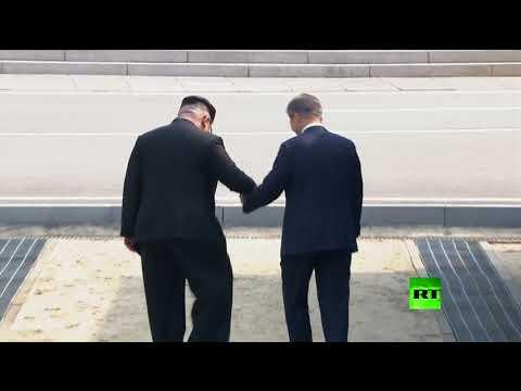مون أول زعيم جنوبي يعبر الحدود إلى كوريا الشمالية  - نشر قبل 2 ساعة