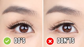 FALSE EYELASHES: Do's & Don'ts | Everything you need to know for beginners