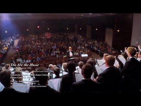 "University Singers 2016 -'17 ""You Are the Music"" - Bob Jones University"