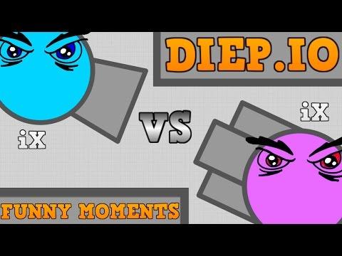 NEW DIEP.IO FUNNY MOMENTS!! // The Evil iX Story // Diep.io Trolling!!