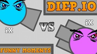 NEW DIEP.IO FUNNY MOMENTS!! // The Evil iX Story // Diep.io Trolling!!