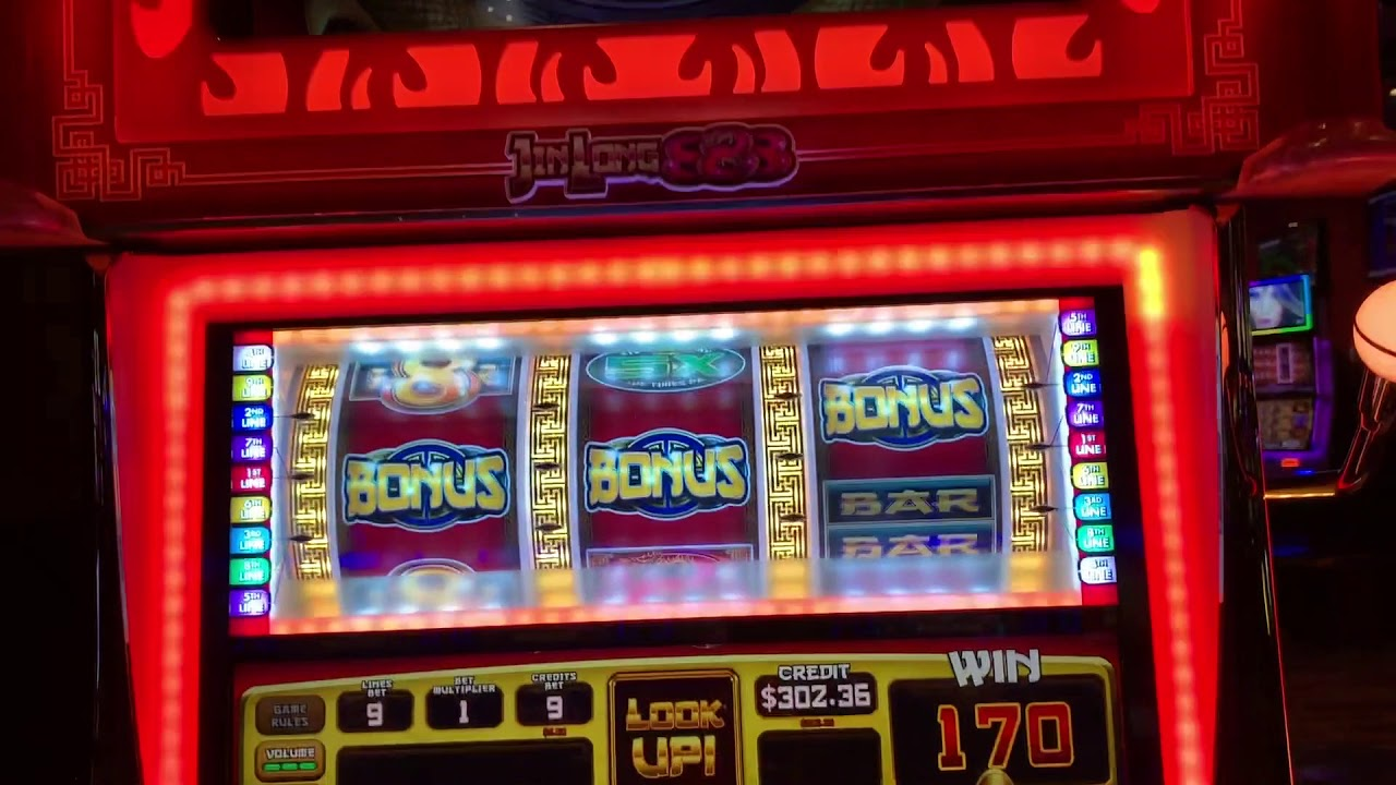 Jin Long 888 Slot Machine - High Limit - $9\/Spin With ...