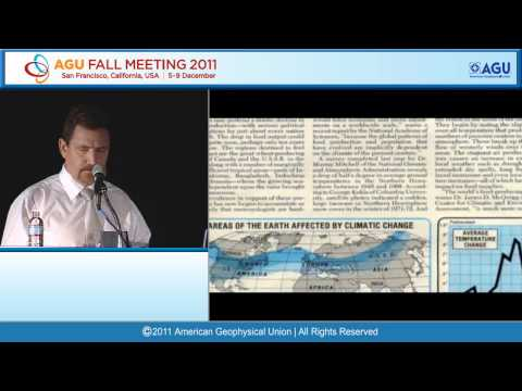 GC43G Stephen Schneider Global Environmental Change Lecture: History of Global Warming