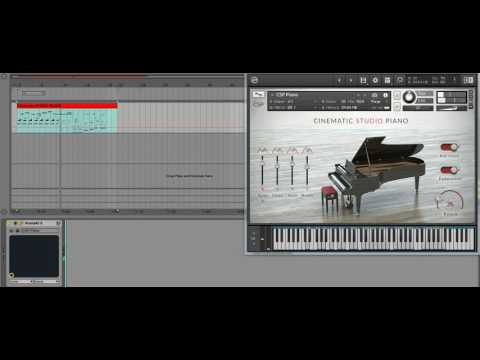 Cinematic Studio Piano  - TEST DEMO