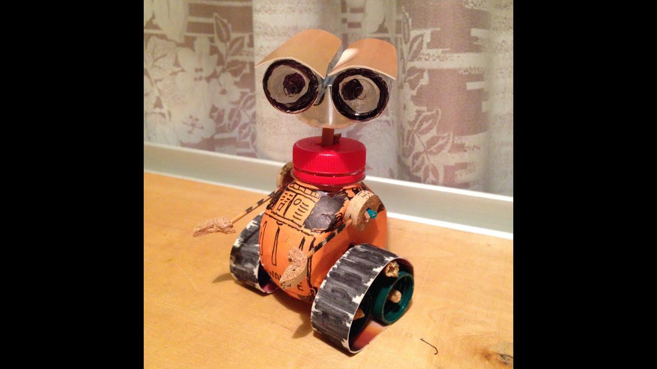 Роботы из бумаги Роботы своими 3