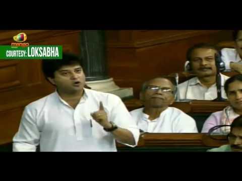 Jyotiraditya Scindia Rips Apart PM Modi's Statement Over Charges On Dalits   Lok Sabha   Mango News