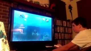 Me raging  at Sea Monsters on the Wii