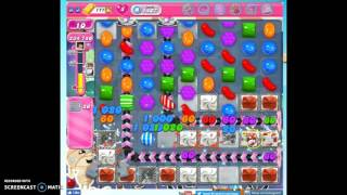 Candy Crush Level 1407 help w/audio tips, hints, tricks