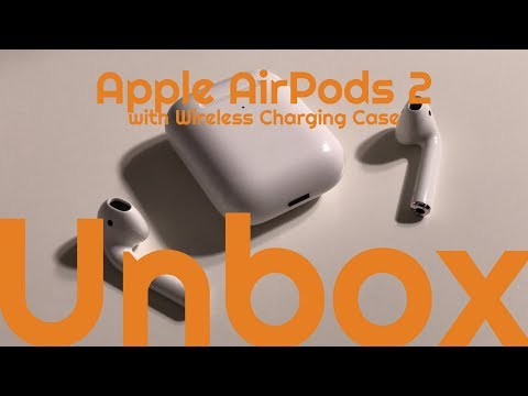Apple AirPods 2 with Wireless Charging Case | Unboxing