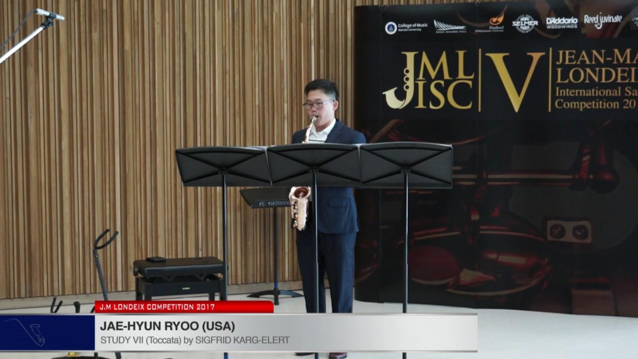 Londeix 2017 - Jae Hyun Ryoo (USA) - VII Toccata by Sigfrid Karg Elert