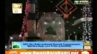 Qtv Rabi ul Awal Mehfil 2011- Ya Nabi Salam Alaika- Owais Raza Qadri
