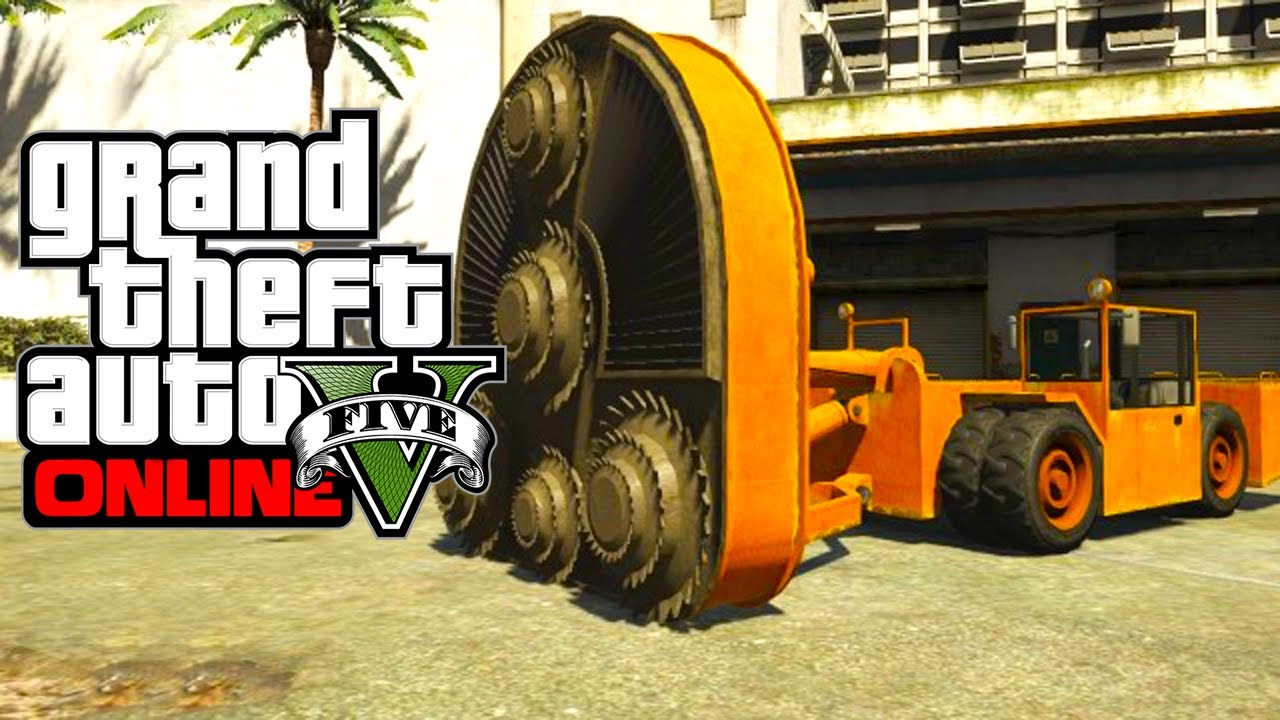 Gta 5 Online Secret Cars Hvy Cutter Gta V Youtube