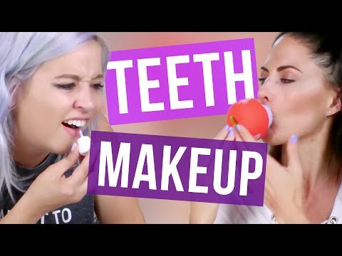 Trying TEETH Makeup & BAD BREATH Checker?! (Beauty Break)