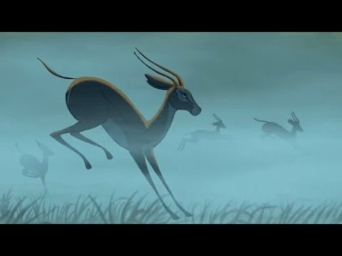 Slow Motion Springbok Antelopes From Quot The Lion King