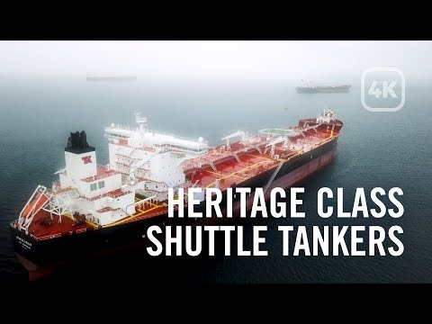 Heritage Class Shuttle Tankers - 4K Aerial Footage