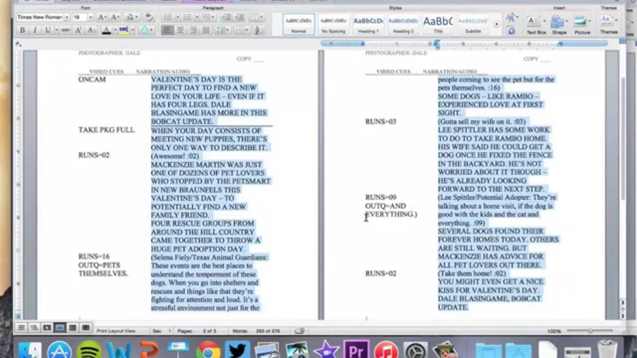 How To Write A Script Report … And Why It's Good For Your Writing