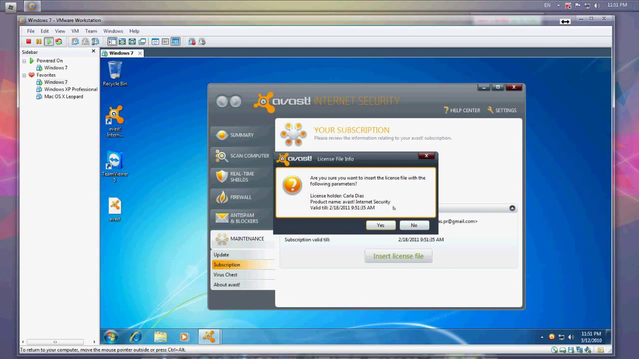 avast internet security 5.1.889 9