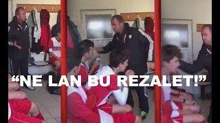 Kayseri'de tokatçı antrenör - Ne Lan Bu Rezalet