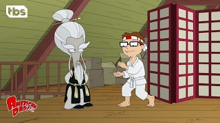 American Dad: Steve's Karate Training [CLIP] | TBS