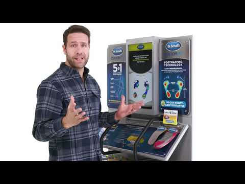 Dr. Scholl's | How the Custom Fit Orthotics Kiosk Works (Demo)