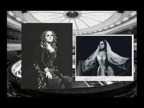 """Katia Ricciarelli """"Regnava nel silenzio...Quando, rapito in estasi"""" Lucia di lammermoor"""