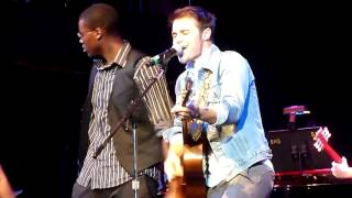 Kris Allen / Marty Walsh Ensemble - Berklee City Music Scholarship Concert - Boston, MA 8/7/12