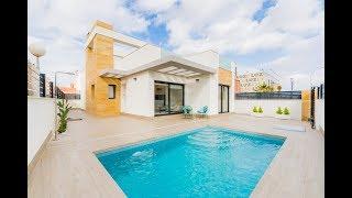 Villa moderne de plain pied ✅ à vendre à Torrevieja sur la Costa Blanca en Espagne