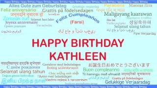 Kathleen   Languages Idiomas - Happy Birthday