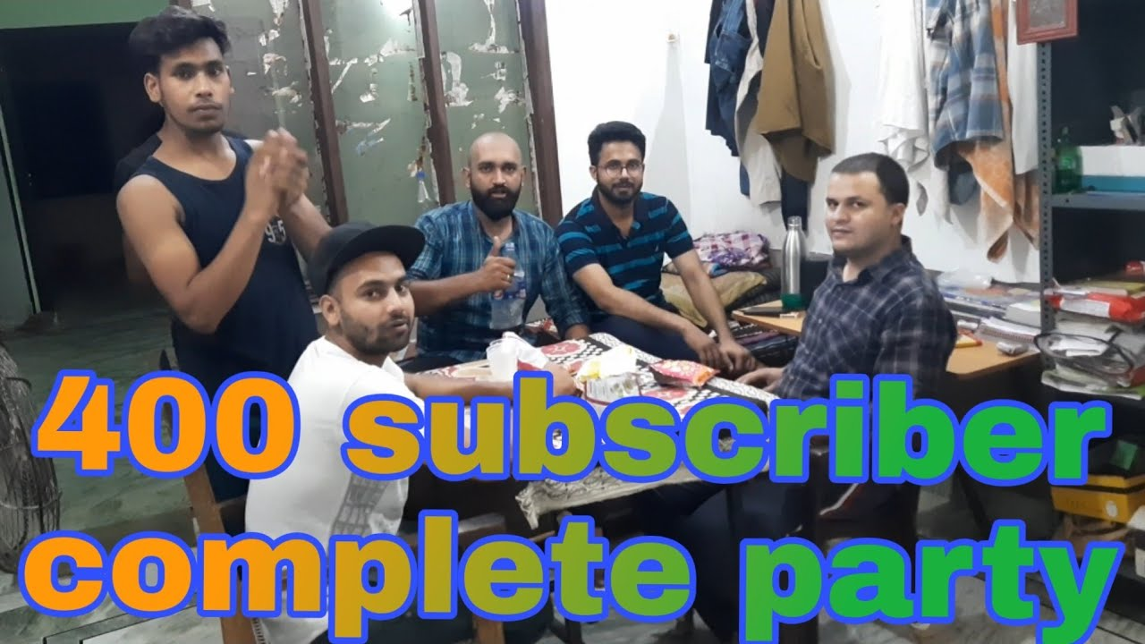 400 subscriber complete and party Hamare channel per 400 subscriber complete🙏🙏