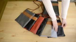 Видео обзор итальянской сумки-планшета Vera Pelle 1247 SENA для магазина BorsaToscana.ru