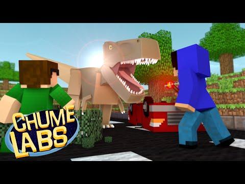 Minecraft: JURASSIC WORLD! (Chume Labs 2 #55)