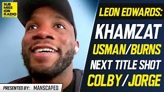 "Leon Edwards: ""Deluded"" Khamzat Chimaev Is ""In For a Rude Awakening"""