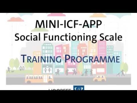 Introducing the Mini-ICF-APP Social Functioning Scale
