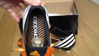 Unboxing adidas predator lz fg scarpe calcio/ football boots  gold/white/black