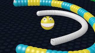 Pacman vs Slither.io  Battle 3D