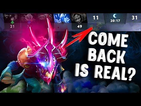 видео: СИЛА СЛАРКА ДОТА 2 - come back is real slark dota 2