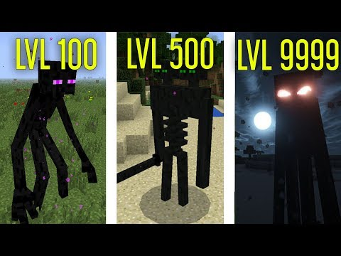🔥 MUTANT ENDERMAN SEVİYELERİ! - Minecraft 🔥