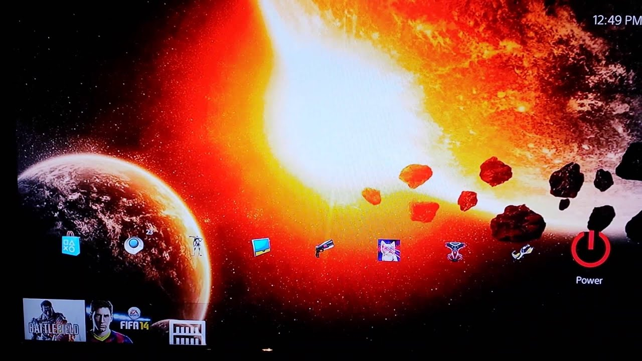 new ps4 themes a dynamic galaxy cross dissolve theme ps4 youtube