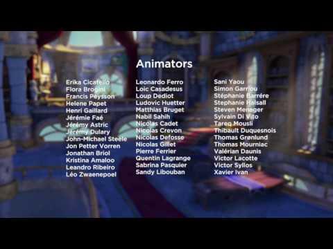 Skylander Academy - Credits
