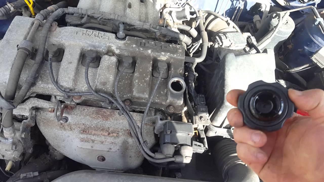 Контрактный двигатель Mazda (Мазда) 2.0 FS | Где купить? | Тест мотора