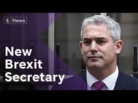 Brexit chaos: New cabinet ministers appointed