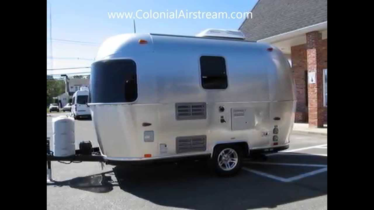 2014 Airstream Sport 16 Bambi Small Camper Vintage Style And Size Caravel Globetrotter II