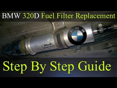 Fuel Filter Replacement – Bmw 2005-2011 320D E90 – How To DIY