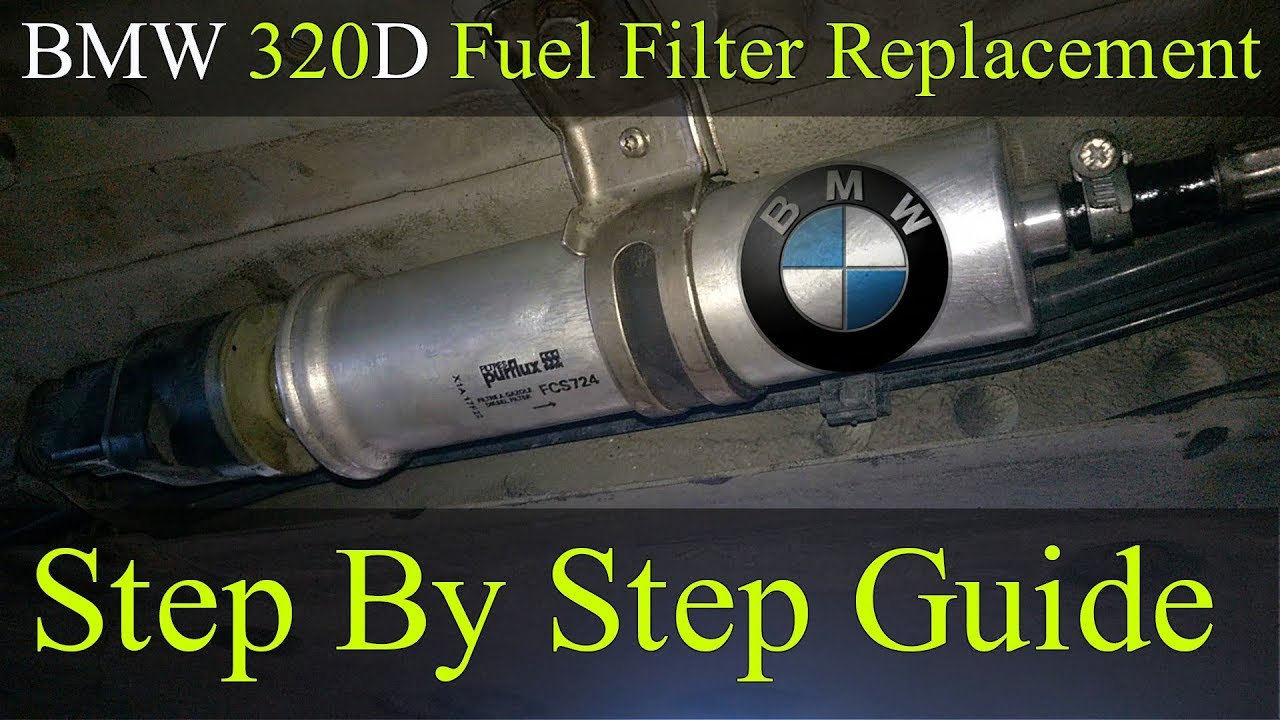 fuel filter replacement - bmw 2005-2011 320d e90