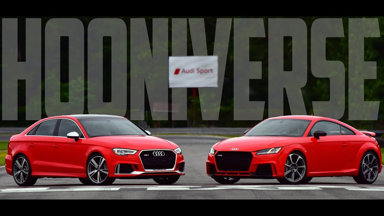 First Drive 2018 Audi TT RS and 2018 Audi RS3  YouTube
