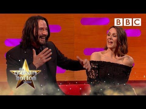 Dancing got Keanu Reeves high? ...WOAH! - BBC The Graham Norton Show