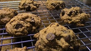 Almond Butter Chocolate Chip Cookies