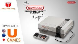 The NES / Nintendo Entertainment System Project - Compilation U - All NES Games (US/EU/JP)