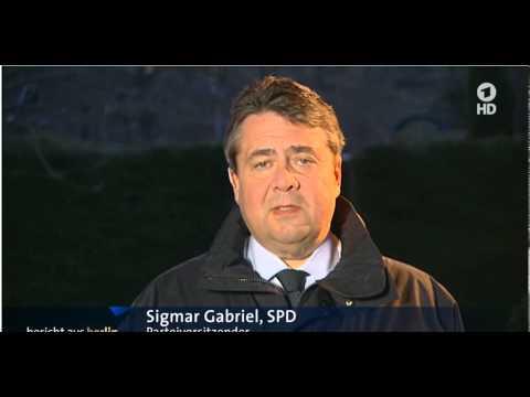 SPD Gabriel unbeholfen über Vorratsdatenspeicherung (Bericht aus Berlin vom 22.3.15)